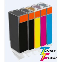TINTA  BROTHER LC127XL Negro COMPATIBLE