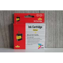 TINTA  BROTHER LC121/123XL Yellow COMPATIBLE