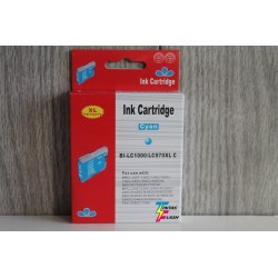 TINTA  BROTHER LC1000/LC970XL Cyan COMPATIBLE