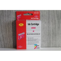 TINTA  BROTHER LC1000/LC970XL Magenta COMPATIBLE