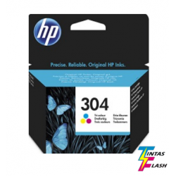 TINTA HP 304 Color ORIGINAL