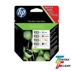 TINTA HP 932XL/933XL Pack 4 COLORES ORIGINAL