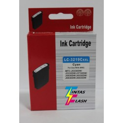 TINTA  BROTHER LC3219 Cyan COMPATIBLE