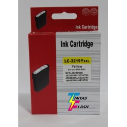TINTA  BROTHER LC3219 Yellow COMPATIBLE