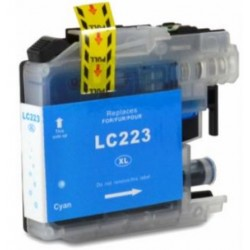 TINTA  BROTHER LC223XL Cyan COMPATIBLE