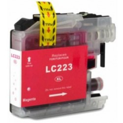 TINTA  BROTHER LC223XL Magenta COMPATIBLE