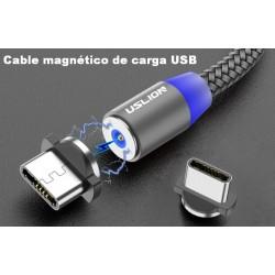 CABLE USB MAGNÉTICO TIPO C y MICRO USB