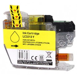 TINTA  BROTHER LC3213 Yellow COMPATIBLE