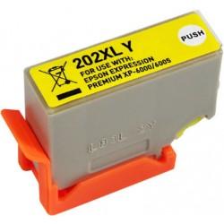 TINTA  EPSON 202XL Yellow COMPATIBLE