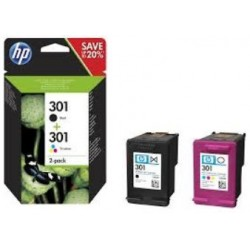 TINTA HP 301 Pack Ahorro ORIGINAL