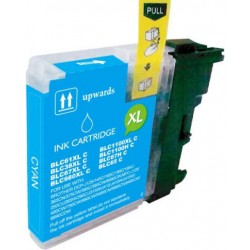 TINTA  BROTHER LC1100/LC980XL/LC985XL Cyan COMPATIBLE