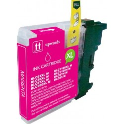 TINTA  BROTHER LC1100/LC980XL/LC985XL Magenta COMPATIBLE