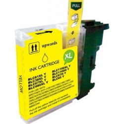 TINTA  BROTHER LC1100/LC980XL/LC985XL Yellow COMPATIBLE