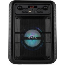 ALTAVOCES NGS ROLLERLINGO BLUETOOTH + USB + MICRO SD + MICROFONO 20W