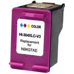 TINTA  HP 304XL Color COMPATIBLE