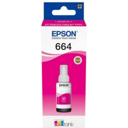 TINTA  EPSON 664 Magenta ORIGINAL