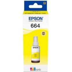 TINTA  EPSON 664 Amarilla ORIGINAL