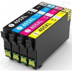 TINTA EPSON 405XL Amarillo COMPATIBLE
